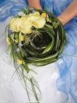 brudebukett grønn